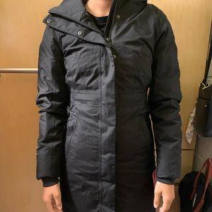 North Face women's arctic parka II, black
